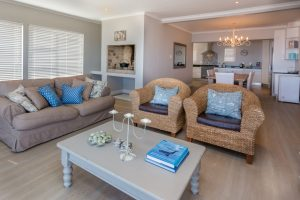 Gansbaai holiday house interior